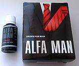 Alfa Man - Капли для повышения потенции (Альфа Мэн), фото 2
