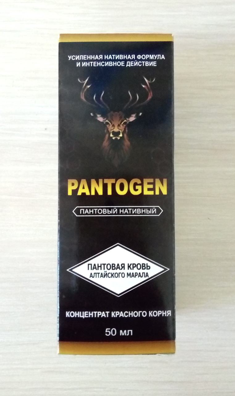 Pantogen - Капли для повышения потенции (Пантоген)
