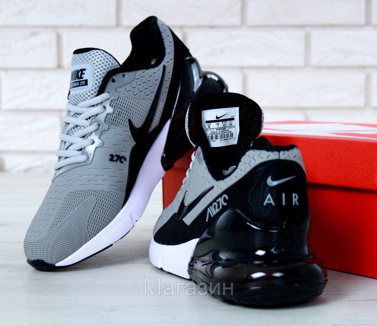 84cf9be2 Мужские кроссовки Nike Air Max Flair 270 KPU Grey (Найк Аир Макс 270)  серые, цена 1 448 грн., купить в Киеве — Prom.ua (ID#792879766)