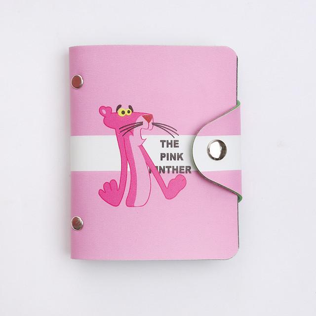 Визитница с розовой пантерой