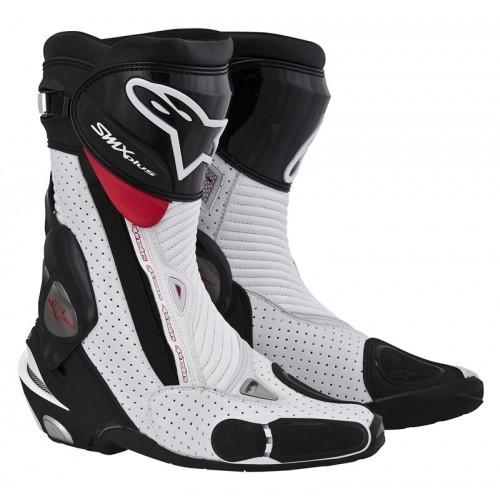 "Мотоботы Alpinestars S-MX PLUS ""45"" black/white/red  Vent."