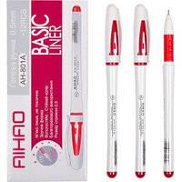 Ручка гелевая AIHAO красная  AH801