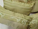 Комплект подушек Нэнси соломенные и фисташка полоски, 6шт, фото 2
