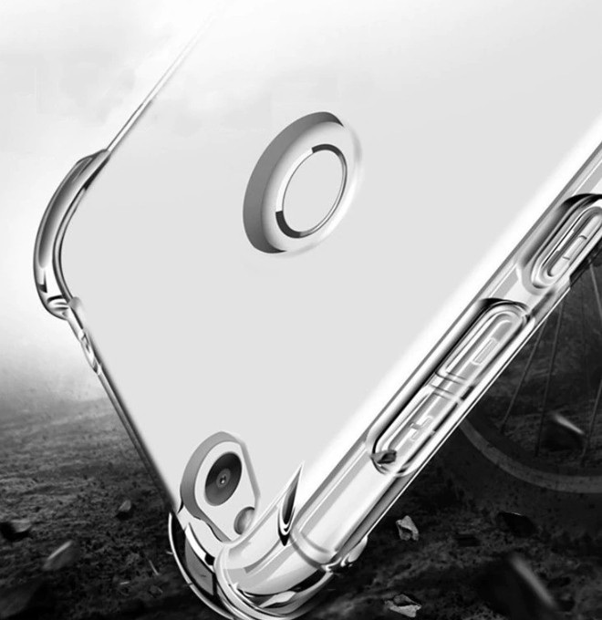 Силиконовый чехол противоударный для Huawei P20 Pro