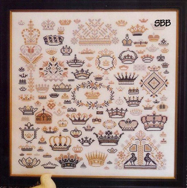 Схема для вышивки Rosewood Manor Crowns of the Kingdom