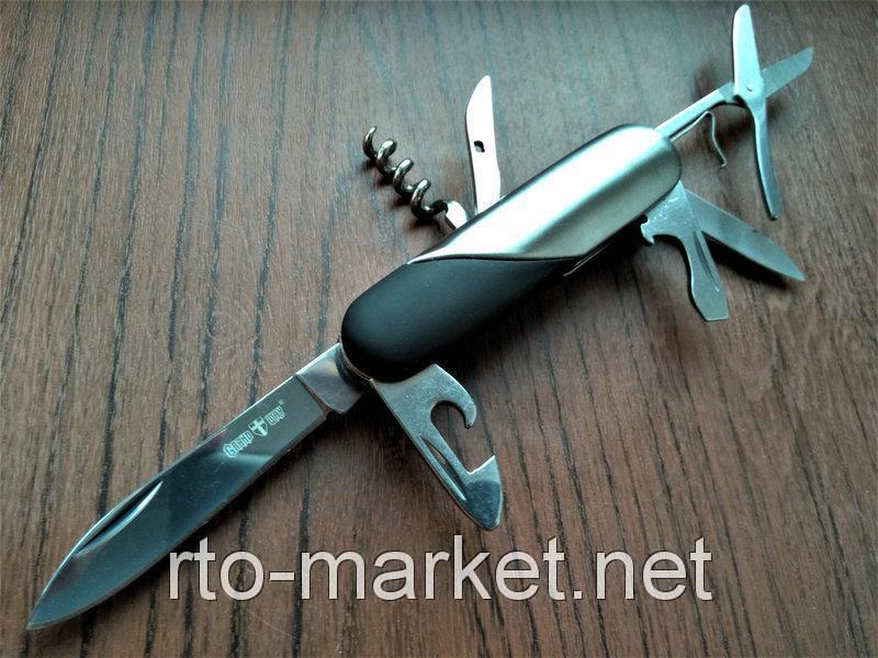 Нож швейцарский многофункциональный(10в1)