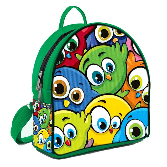 Рюкзак Moderika Arco зеленый с рисунком Смешарики (77868)