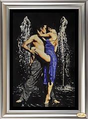 """Набор для вышивки бисером и рисования стразами """"Страстные танцы - 1"""" НС-001"""