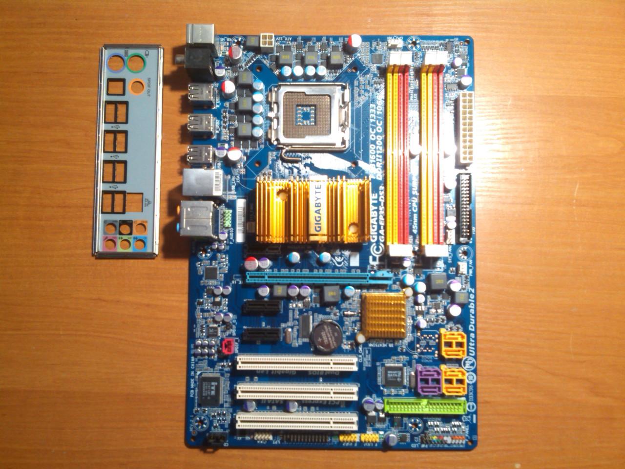 Gigabyte GA-EP35-DS3 сокет 775 Гарантія!