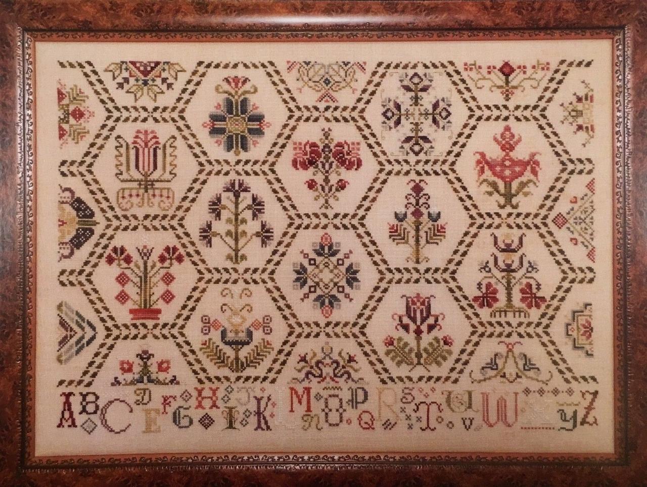 Схема для вышивки крестиком Rosewood Manor Parchment Tapestry