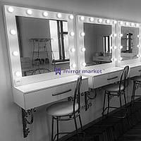 Зеркало с подвесной тумбой 1000х350х190 мм