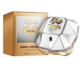 Женская парфюмерная вода Paco Rabanne Lady Million Lucky 80 мл