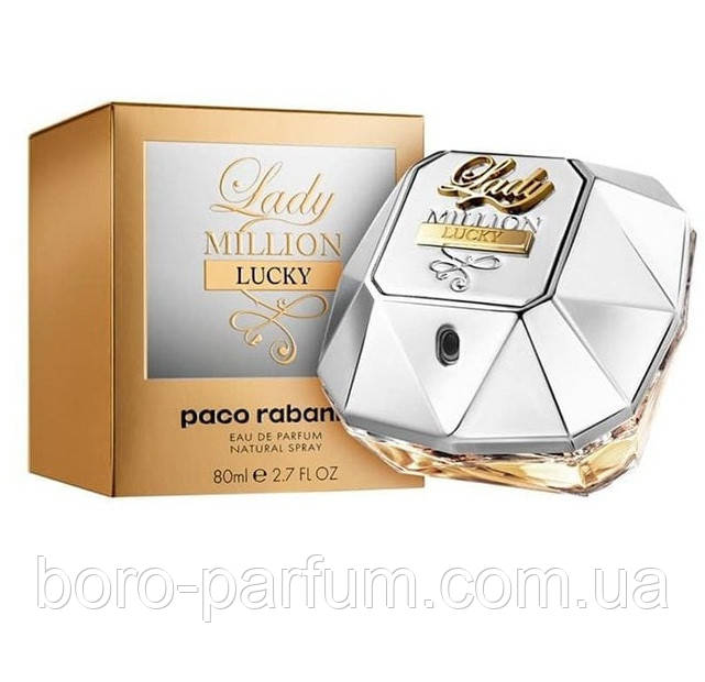 Женская парфюмерная вода Paco Rabanne Lady Million Lucky