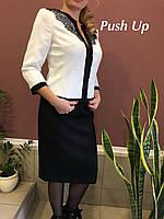 Юбка черная  HILTON 2.852 от Noche Mio! Нарядная юбка. Черная женская юбка