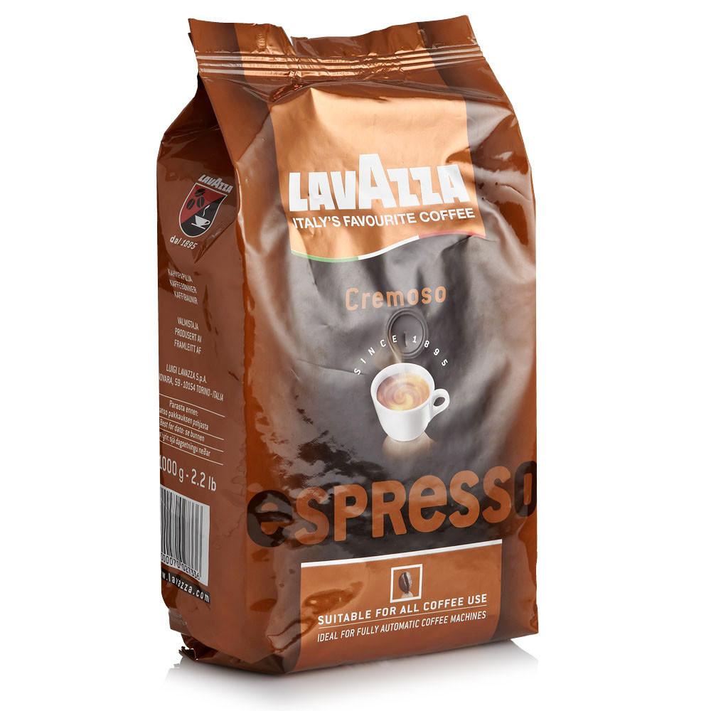 Кофе в зернах Lavazza Espresso Cremoso 1 кг