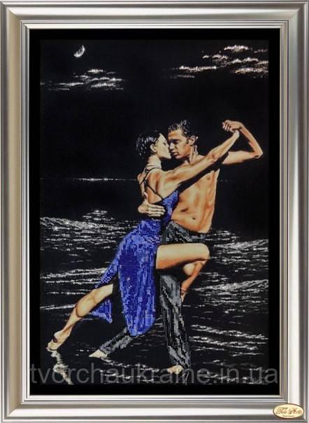 """Набор для вышивки бисером и рисования стразами """"Страстные танцы 2"""""""