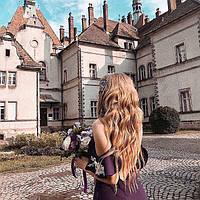 Европейские волосы на заколках