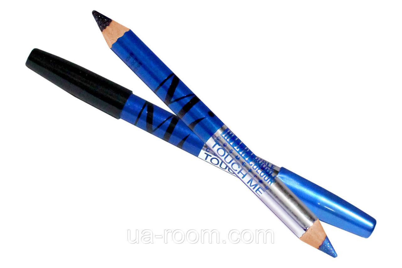 Двусторонний карандаш-тени для глаз MI double colour