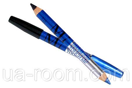 Двусторонний карандаш-тени для глаз MI double colour, фото 2
