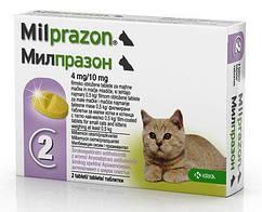 Таблетки від глистів Милпразон для кошенят і котів до 2кг (1 таблетка)