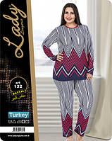 Пижама больших размеров LADY LINGERIE 132