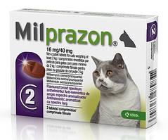Таблетки от глистов Милпразон для котов от 2кг