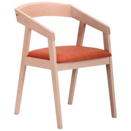 Обеденный стул Маскарпоне бук беленый, TM AMF
