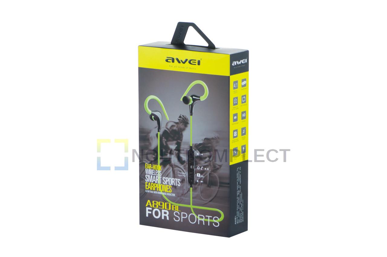 Наушники Bluetooth Awei - A890BL White