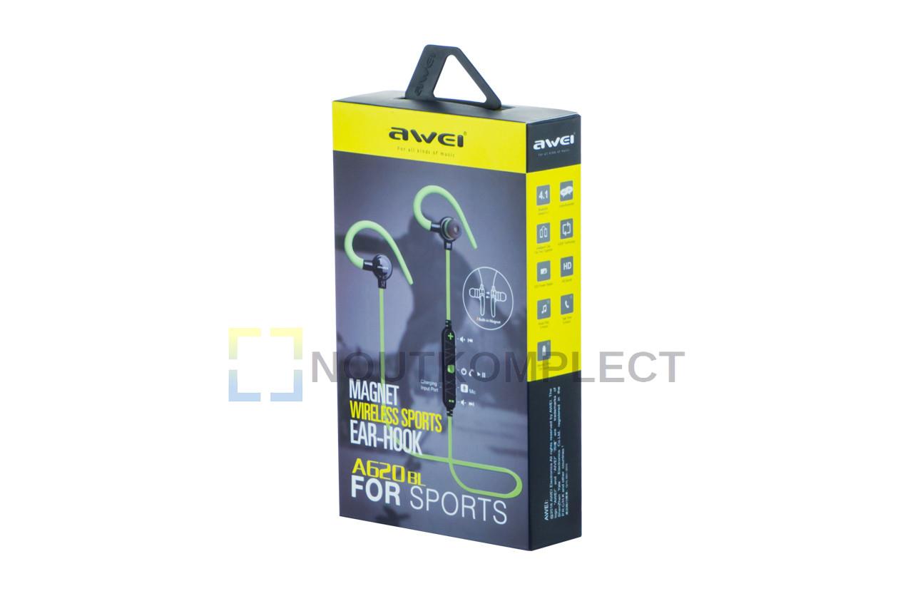 Наушники Bluetooth Awei - A620BL White