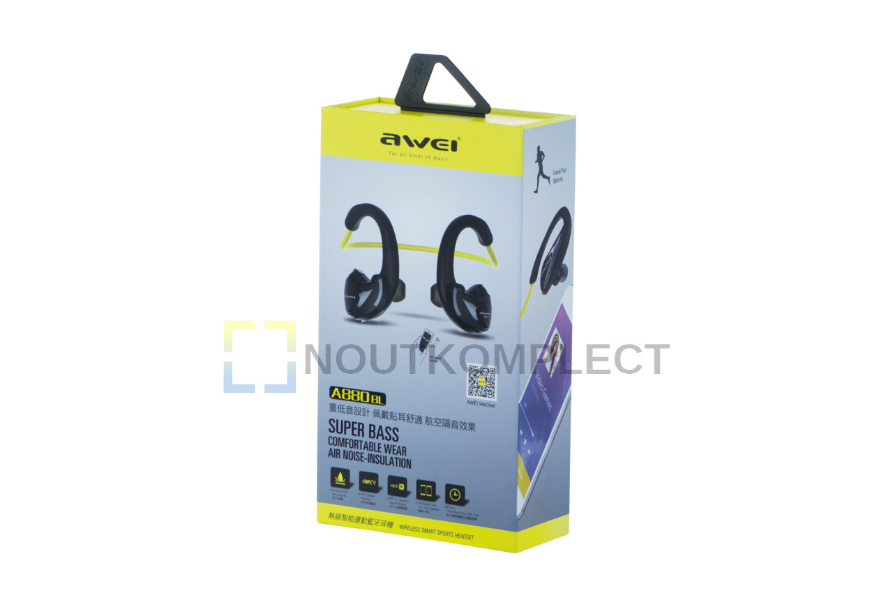 Наушники Bluetooth Awei - A880BL Blue