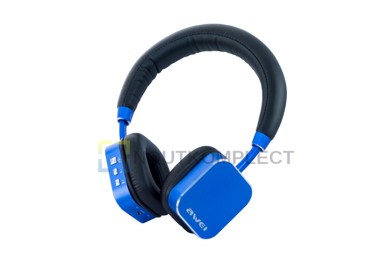 Наушники Bluetooth Awei - A900BL Blue