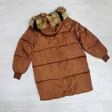 Куртка длинная карамель- 215-01-2, фото 2