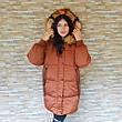 Куртка длинная карамель- 215-01-2, фото 3