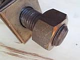 Нержавіюча жаростійка шпилька з гайками, М27х200, фото 7