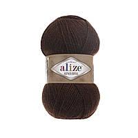 Пряжа  Alize Alpaca RoyaL 201 коричневый (Альпака Роял)