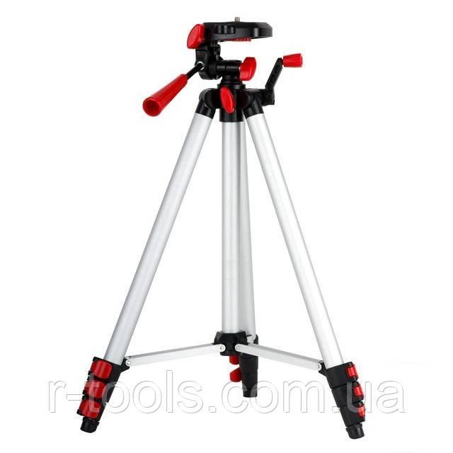 "Штатив 1,3м для лазерного уровня MT-3051, MT-3052 резьба 1/4"" Intertool MT-3053"