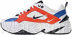 Мужские кроссовки Nike M2K Tekno John Elliott AO3108-101 Найк Текно белые