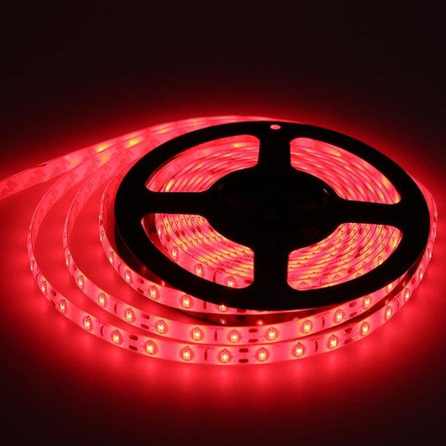 Светодиодная лента красного цвета LED 3528 Red 60RW
