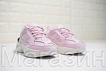 Женские кроссовки Nike M2K Tekno Pink Найк Текно розовые, фото 2