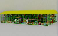 """Детский лабиринт """"Зов Джунглей"""" 18х12х3.5 с павильоном"""