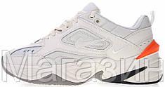 Мужские кроссовки Nike M2K Tekno Phantom/Olive Grey Найк Текно белые