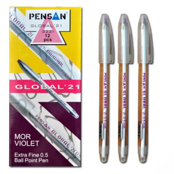 Ручка Global фиолетова