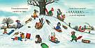 Шусть і Шуня. Випав сніг. Книга Акселя Шеффлера, фото 7