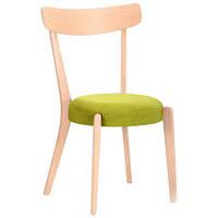 Обеденный стул Пекорино бук беленый, TM AMF Обеденный стул Пекорино бук беленый, TM AMF/лайм