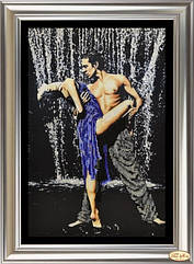 """Набор для вышивки бисером и рисования стразами """"Страстные танцы 3"""""""