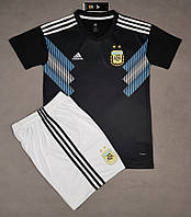 Футбольная форма сборной Аргентины сезон 2018 (черная), фото 1