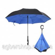 Зонт обратного сложения (т1007/0) голубой