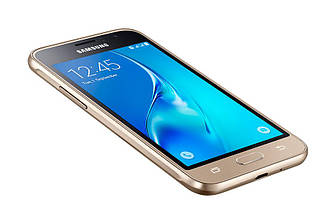 Смартфон Samsung Galaxy J1 2016 SM-J120H Dual Sim Gold (SM-J120HZDDSEK)