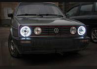 Ангельские глазки Volkswagen golf