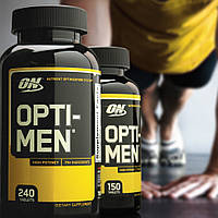 Opti Men 180 таблеток витамины комплекс Optimum Nutrition Европа, фото 1